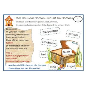 Die Lernlandschaft für Nomen